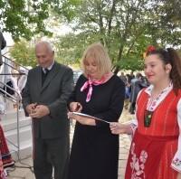 """На 16-ти Октомври от 11,00 часа тържествено бе открита нова Информационна точка  на ДПП """"Сините камъни"""" в село Калояново."""
